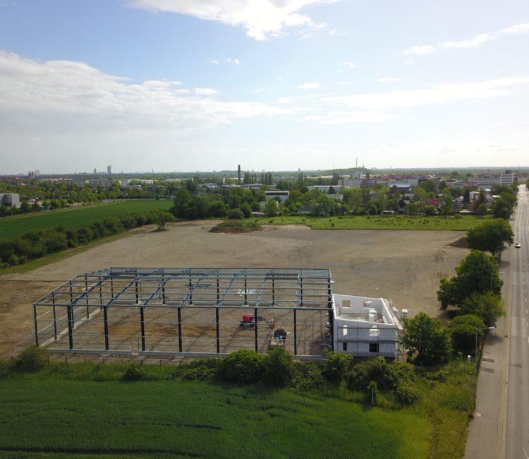 Neubau des Logistikzentrums